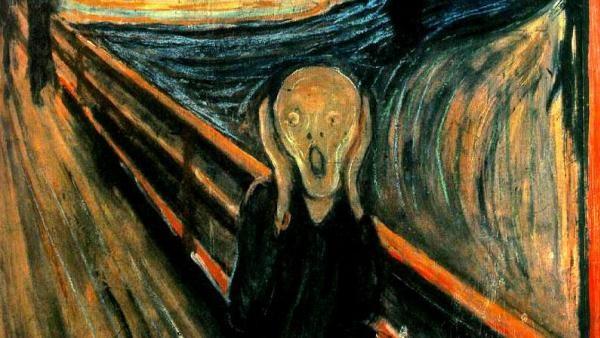 El Grito. Pintura, Edvard Munch