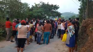 Los pobladores mantuvieron una protesta desde el jueves pasado y hasta ayer lunes en la noche que fueron sacrificadas las dos mascotas.