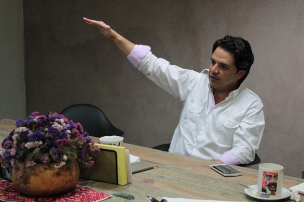 Zoé Robledo, senador por Chiapas. Foto: Roberto Ortíz/ Chiapas PARALELO.