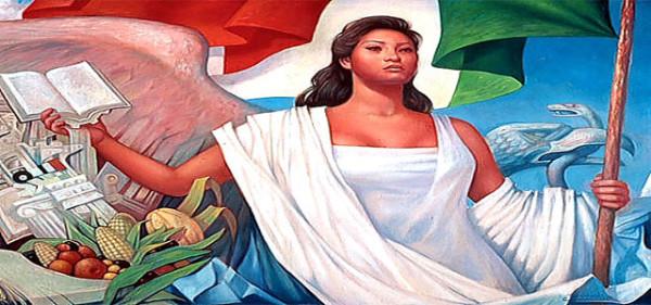 Imagen de libro de texto en México.