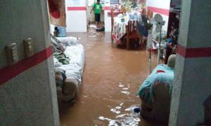 Cientos de casas afectadas por las lluvias. Foto: Cortesía