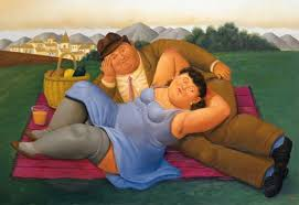 Pintura de Fernando Botero.