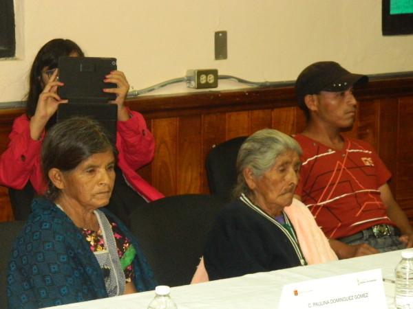 Como parte de los acuerdos suscritos con los familiares de las víctimas y de CIDH, las autoridades construirán un parque en el ejido Morelia en memoria de Severiano, Hermelindo y Sebastián. Foto: Chiapas Paralelo