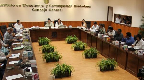 Se imponen sanciones económicas a los institutos políticos. Foto: IEPC
