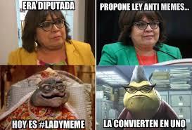 Lady Memes o la Nena Consentida