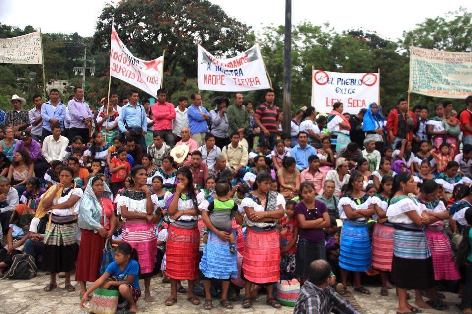 Miles De Indígenas Integrantes Del Pueblo Creyente Marcharon En
