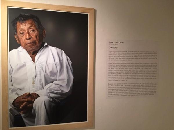 Crecencio Pat Cauich, 92 años. Su tatarabuelo fue Jacinto Pat, iniciador de la guerra de castas.