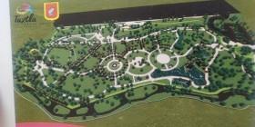 El plano del parque