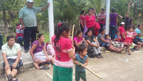 Familias de Chicomuselo expulsadas expulsadas por disputa agraria. Foto: Cortesía.