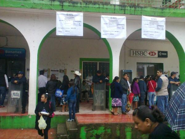 Elección extraordinaria en Tapilula. Foto: Cortesía