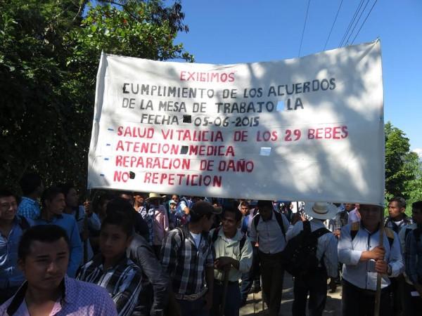 Ni clínica, ni médico, ni camino de acceso para La Pimienta. Foto: Cortesía