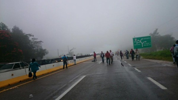 Manifestación de maestros en el marco de la evaluación. Foto: Archivo Chiapas PARALELO