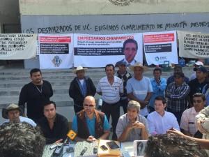 Proveedores y contratistas, reclaman pagos al gobierno de Chiapas.