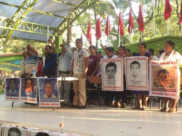 Los padres y las madres de los desaparecidos en la Mactumatzá