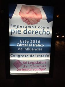 Gobierno de Chiapas disfraza con publicidad la realidad que afecta a los pobladores. Foto: Francisco Cordero