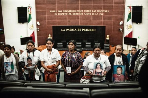 Madres de migrantes centroamericanos. Foto: MMM