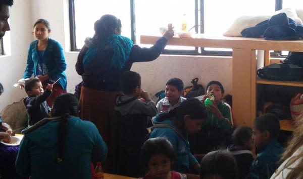 Indígenas evangélicos expulsados de Las Margaritas. Foto: Cortesía