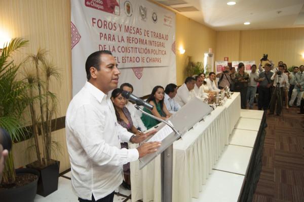 La ilegitimidad de la reforma constitucional que se propone para Chiapas viene de origen. Foto: Congreso