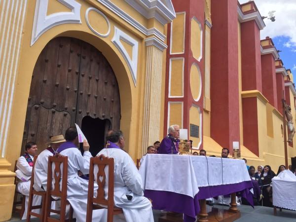 Párrocos de la Diócesis de San Cristobal de las Casas. Foto: Fredy Martín Pérez