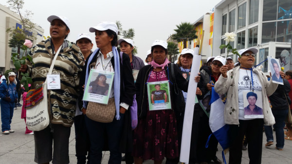 Madres de migrantes centroamericanos desaparecidos en México. Foto: MMM