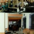 Las autoridades de Gabriel Leyva Velázquez, agrupados a la Iglesia católica, transportaron en camiones el material de las casas de las 9 familia. Foto: Cortesía
