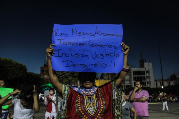 Las mujeres afrodescendientes son invisibilizadas en Chiapas. Foto: Roberto Ortíz/ Chiapas PARALELO.