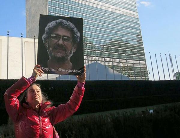 La ONU preocupada por la seguridad del activista mexicano
