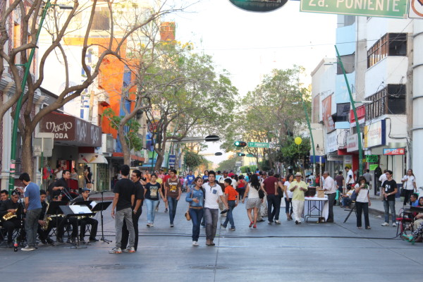 Aspecto de la avenida central durante el Festival de la Primavera. Foto: Arnold Jarquin/ Cortesía.