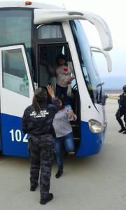Maestras detenidas y trasladadas