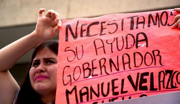 La familia de Elizabeth pidió al gobernador que intervenga ante las autoridades de México y EEUU para localizar a la joven desaparecida. Foto: Karina Álvarez/ Chiapas PARALELO.