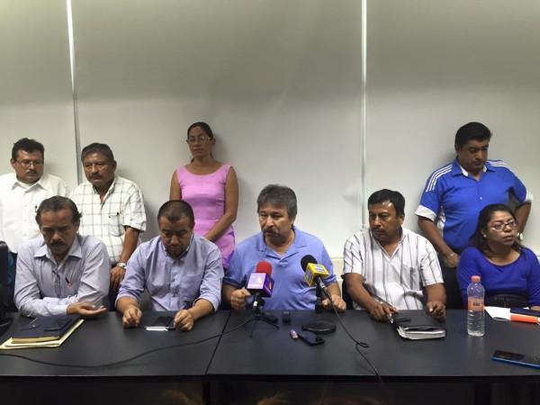 Anuncian que maestros fueron liberados. Foto: Chiapas Paralelo