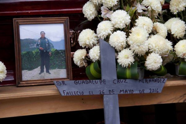 Guadalupe, uno de los dos fallecidos. Foto: Movimiento Pedrano de Chenalhó.