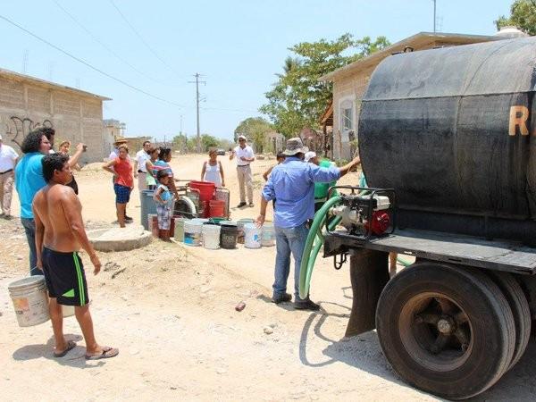 La crisis del agua...