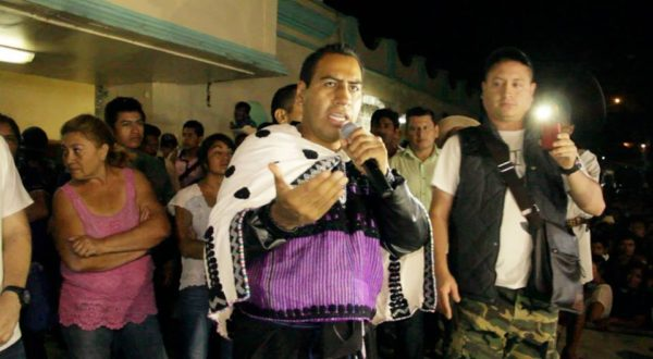 Eduardo Ramírez Aguilar, líder del PVEM. Foto: Movimiento Pedrano Chenalhó
