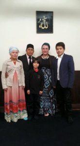 Ibrahim y familia. Foto: Archvo Gaspar Morquecho