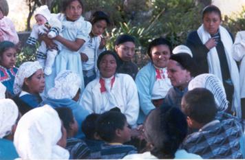 Chamulas musulmanes. Foto: Archivo Gaspar Morquecho