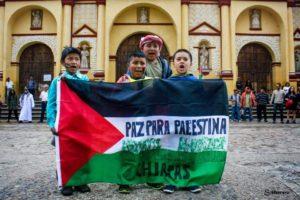 Manifestación a favor de Palestina. Foto: Archivo Gaspar Morquecho
