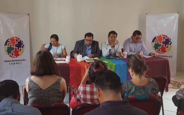 En conferencia de prensa, activistas defensores de derechos humanos