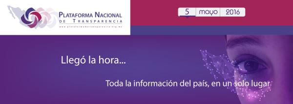 Llegó la hora http://www.plataformadetransparencia.org.mx/