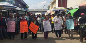 Directores y supervisores agredidos por manifestantes. Foto: Cortesía