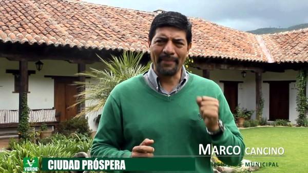 Marco Cancino, regresión política coleta
