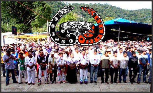 Encuentro entre el EZLN y CNI. Foto: Archivo