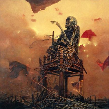 Pintura de Beksinski