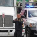Policías también dispararon bombas de gas lacrimógeno. Foto: Colectivo Tragameluz