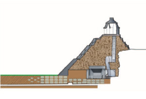 Mapa del Templo de las Inscripciones
