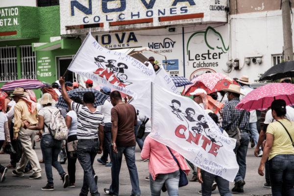 La CNTE llegará este fin de semana al paro magisterial más largo de su historia. Foto: Francisco López Velázquez/ChiapasPARALELO