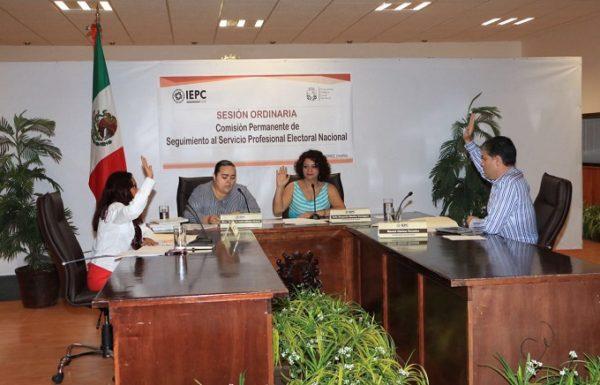 Inicia IEPC capacitación rumbo al Servicio Profesional Electoral
