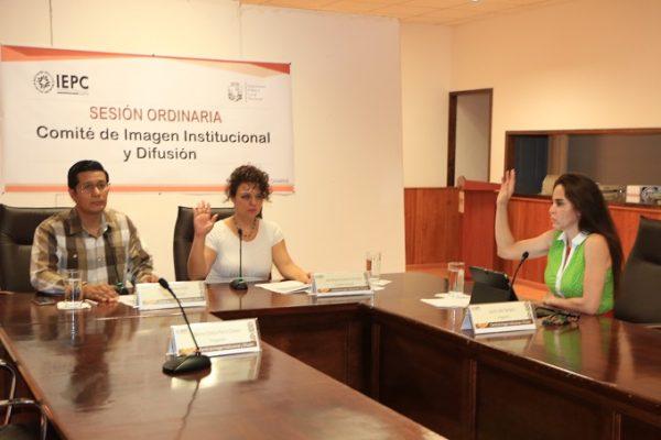 Instala IEPC Comité de Imagen Institucional y Difusión