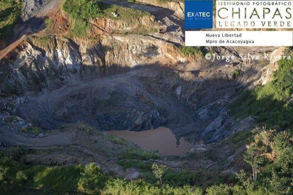 Minera en Acacoyagua