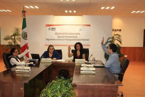 Propone IEPC incorporar 60% de sus plazas sustantivas al Servicio Profesional Electoral Nacional